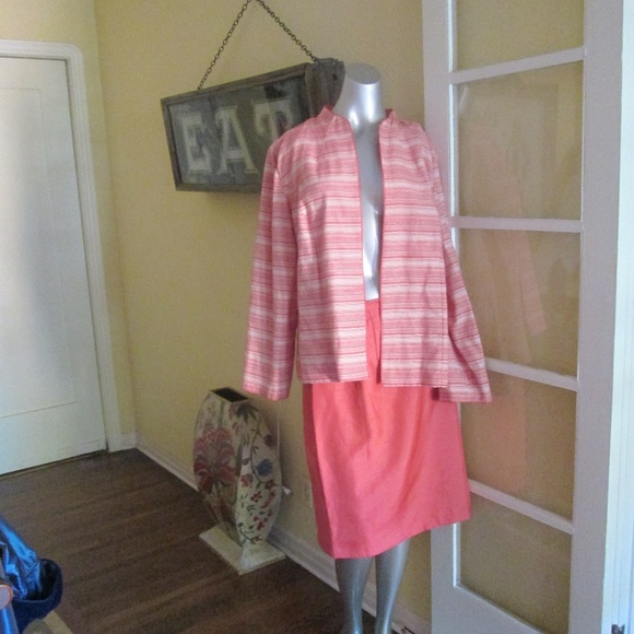 Sheri Martin Other - Vintage Plus 20 Pastel Jacket Skirt Sheri Martin